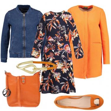 Outfit Romantico arancio