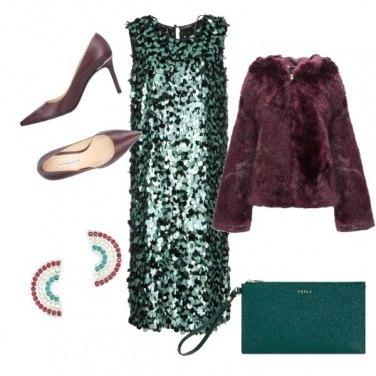 Outfit Lustrini per la notte di Natale