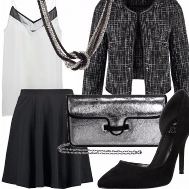 Outfit Silver girl