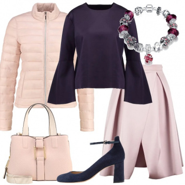 Outfit Armonia in rosa