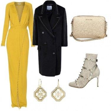 Outfit Gold per un'occasione importante