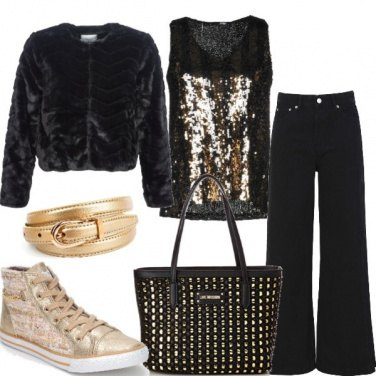 Outfit Urban e gold