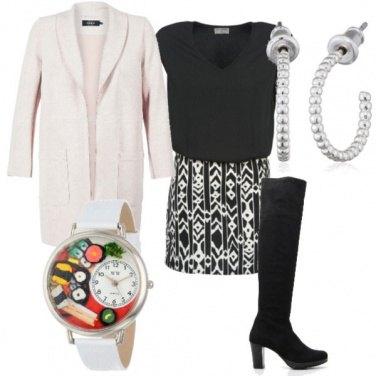 Outfit Orologio colorato