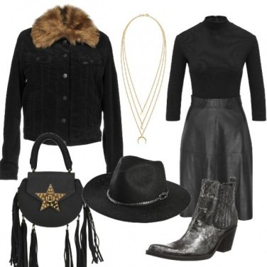 Outfit Cowgirl moderna