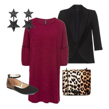 Outfit Natale maculato