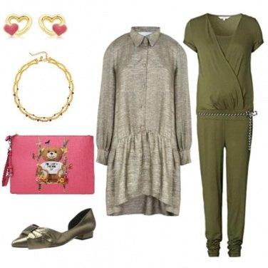 Outfit Natale con il pancione