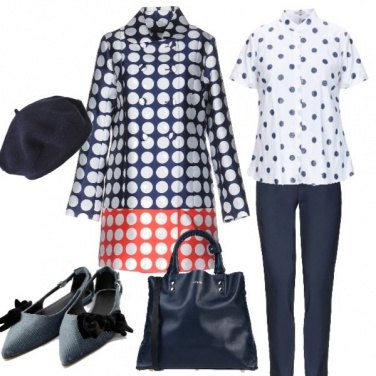 Outfit Pois su pois