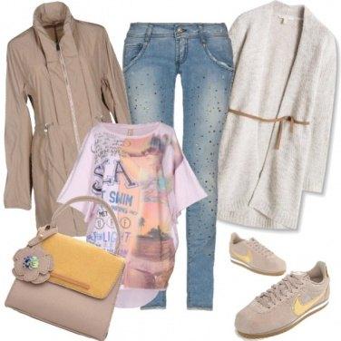 Outfit Di pomeriggio in un mite inverno