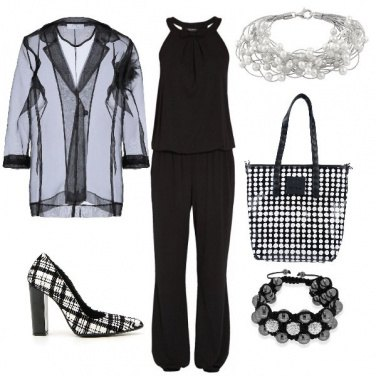 Outfit Un Natale chic in nero