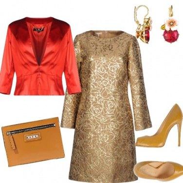 Outfit Oro e Rubino