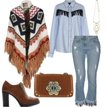 Outfit Cowgirl for winter