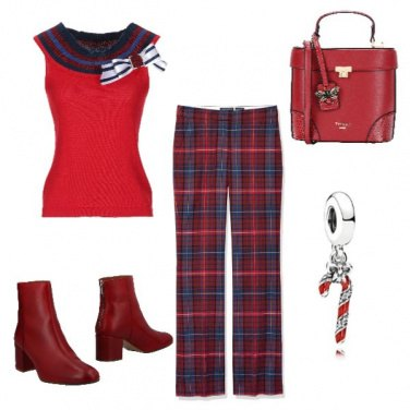 Outfit Red Christmas