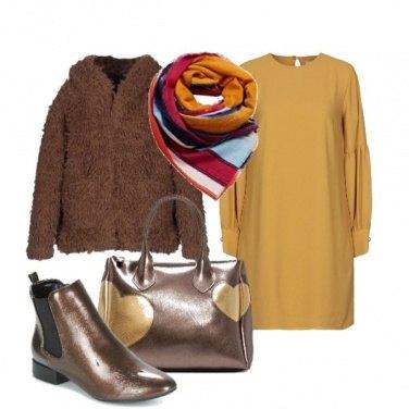 Outfit Ecofur e abito