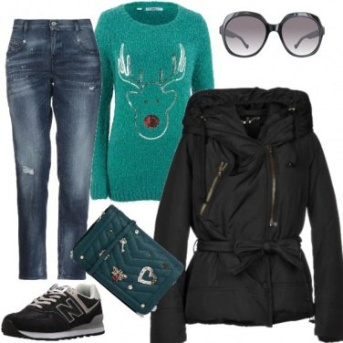 Outfit Casual a Natale