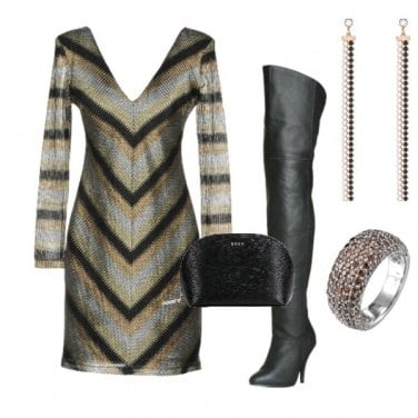 Outfit Gold style