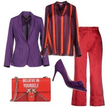 Outfit Colori d\'impatto