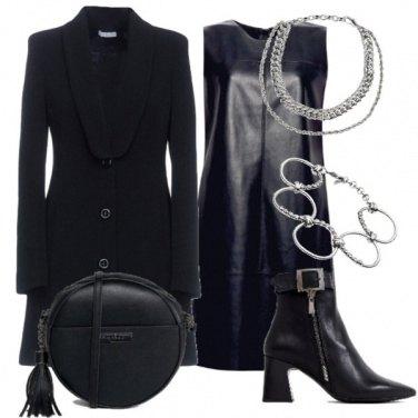 Outfit Total black per la sera