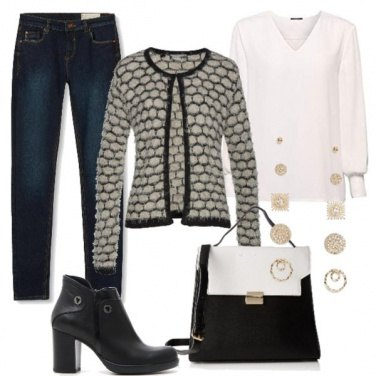 Outfit In casual to christmas\' shopping
