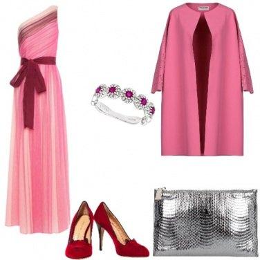 Outfit Bon Ton, tutto legato ad un fiocco rosso
