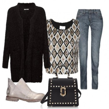 Outfit Jeans natalizio