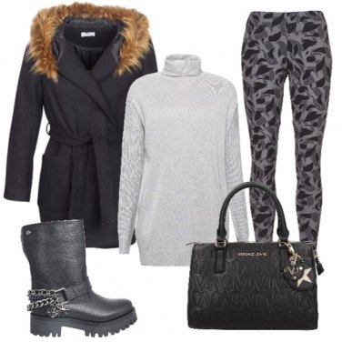 Outfit Shopping natalizio