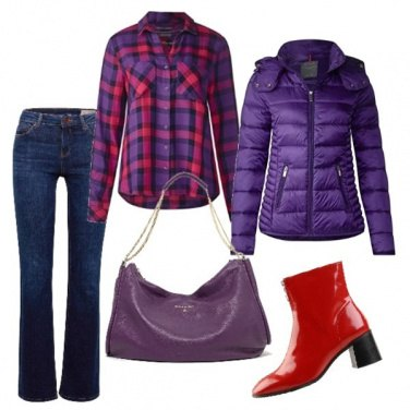 Outfit La camicia stile country