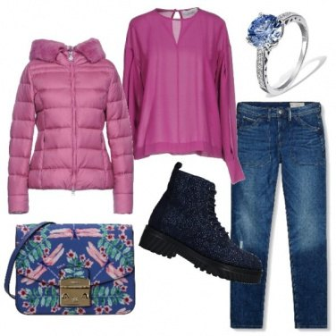Outfit Rosa dominante