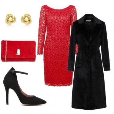 Outfit Natale in pizzo
