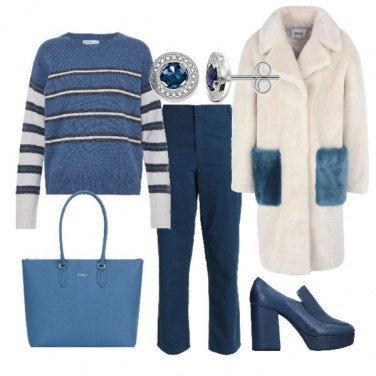 Outfit Blu forever