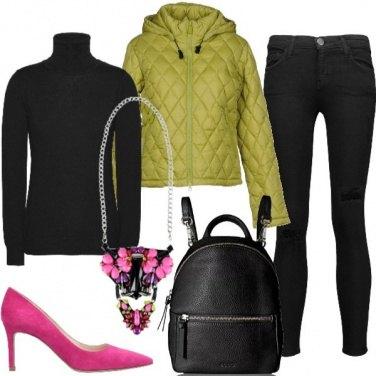 Outfit Collana d\'impatto