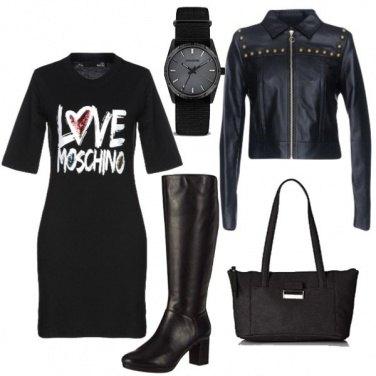 Outfit Vestitino Moschino