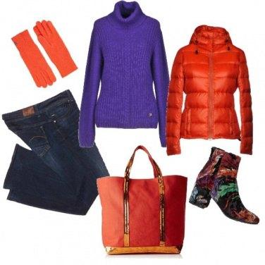 Outfit Capi basic a colori vivaci