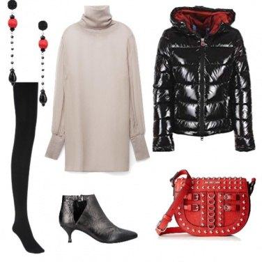 Outfit Freddo rock