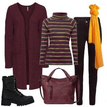 Outfit Colori che scaldano