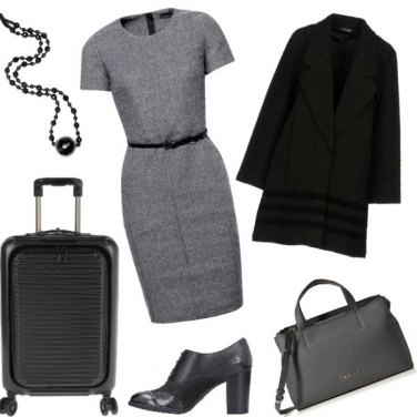 Outfit Viaggio di lavoro