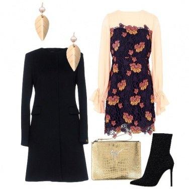 Outfit Floreale per le feste