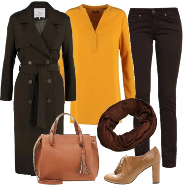 Outfit Miele e venere