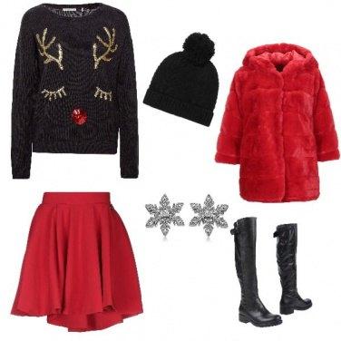 Outfit Versione natalizia