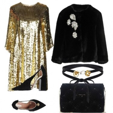 Outfit Gold gold gold