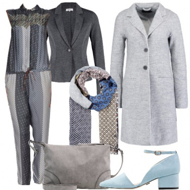 Outfit La jumpsuit in inverno