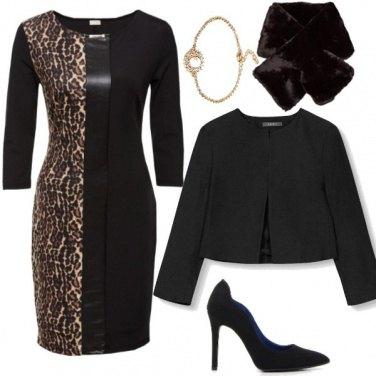 Outfit Un pizzico di leopardato
