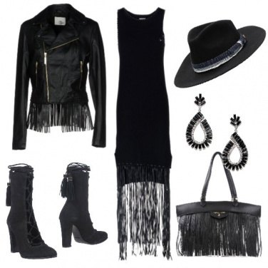 Outfit Voglia di frange e Far West