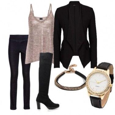 Outfit Chiara ferragni style