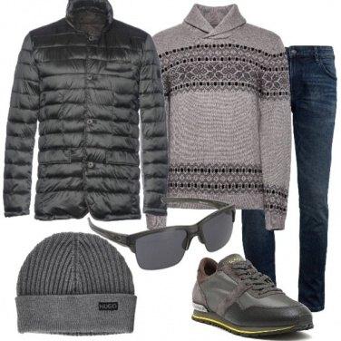 Outfit Il pullover stile nordico