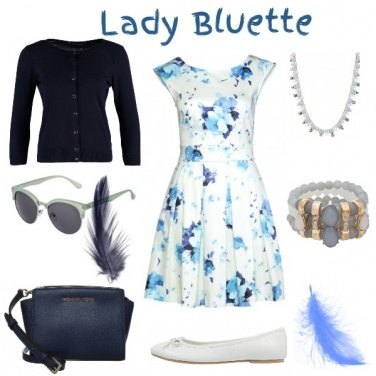 Outfit Lady Bluette