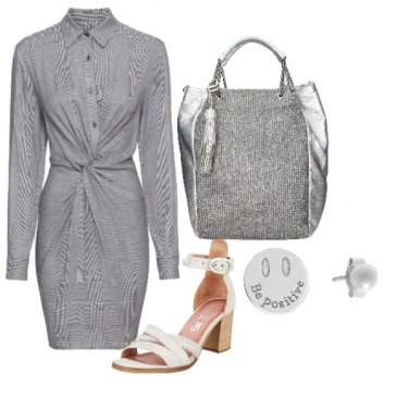 Outfit Grey!be positive