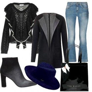 Outfit Un jeans per le feste