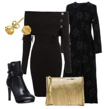 Outfit Un tocco d'oro