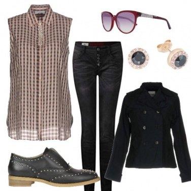 Outfit Cappottino corto