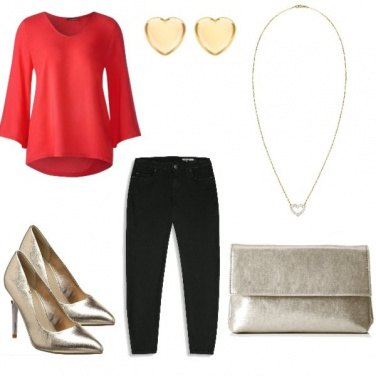 Outfit Golden Christmas
